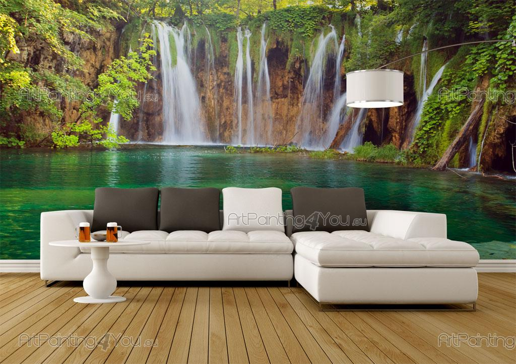 Wall Mural Posters tropical waterfall - wall murals & posters (mcca1062en