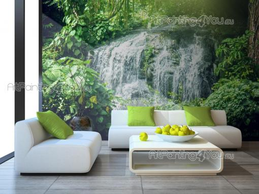 Wall Murals Waterfalls & Posters - Wall murals for bedrooms made in high resolution with stunning nature landscape with waterfalls