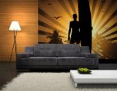 Surfer On The Beach - Sport Wall Murals & Posters