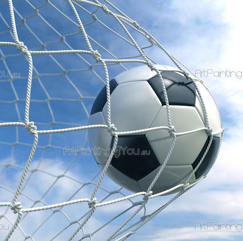 Fotboll Goal - Fototapet Sport   Posters 591f558e73e4a