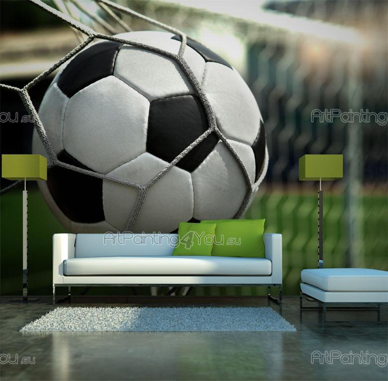 Fotboll Goal - Fototapet Sport   Posters ... 37931136a2f43