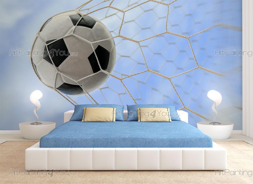 72c7e6b2 Fototapet & Plakater Fotball Goal | ArtPainting4You.eu® | (MCD1049no)