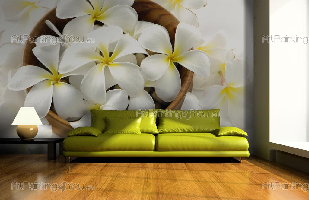 wall murals flowers canvas prints posters plumeria