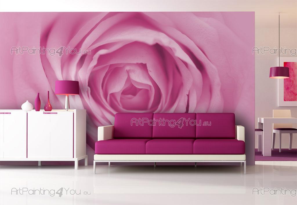 papier peint poster rose mcf1054fr. Black Bedroom Furniture Sets. Home Design Ideas