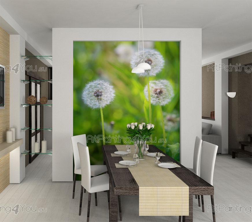 Fotobehang Voor Keuken : Fotobehang Bloemen, Canvas Printen & Posters Paardebloem (1840nl)