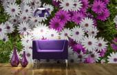 Daisy Flower - Wall Murals Flowers & Posters