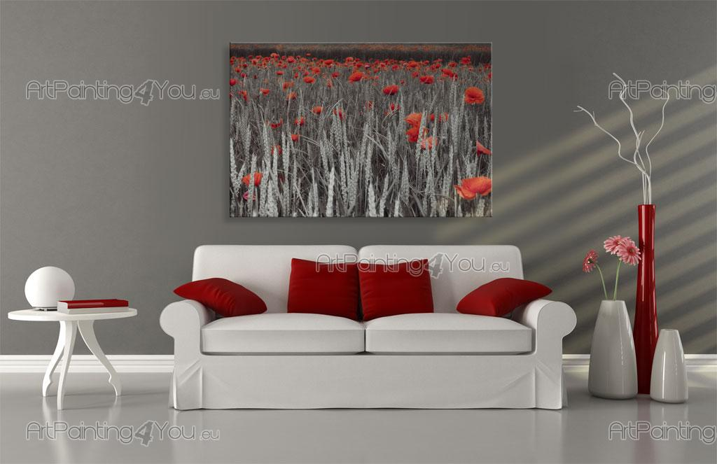 papier peint fleurs poster impression sur toile. Black Bedroom Furniture Sets. Home Design Ideas