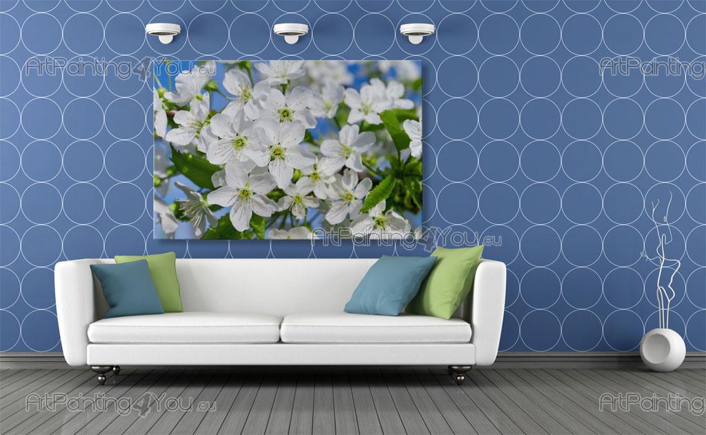 papier peint poster fleurs de cerisier mcf1088fr. Black Bedroom Furniture Sets. Home Design Ideas