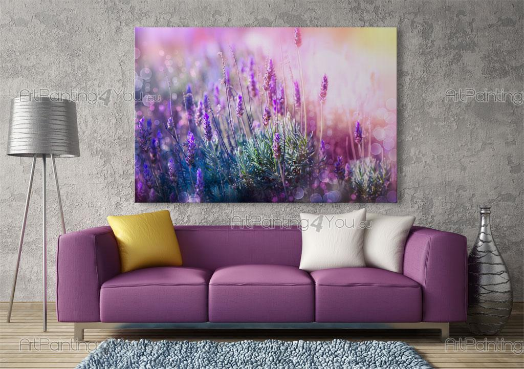 fototapete blumen poster leinwandbilder lavendel blumen. Black Bedroom Furniture Sets. Home Design Ideas