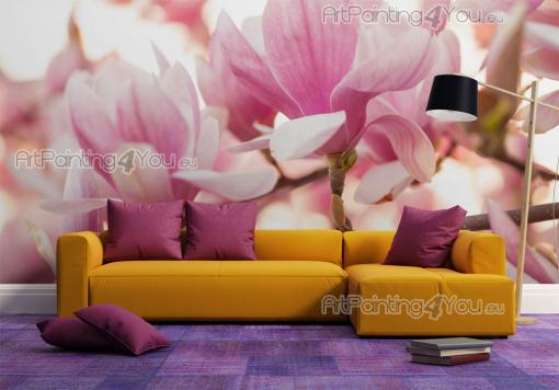 Magnolia Flower - Wall Murals Flowers & Posters