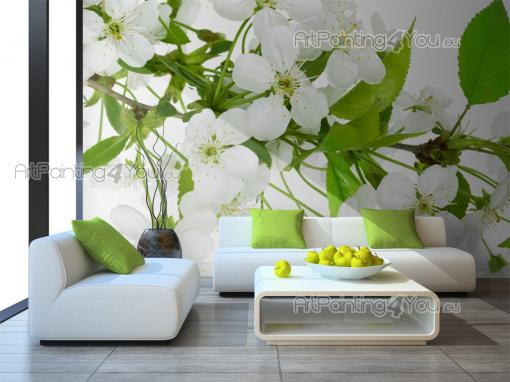 Apple Tree Flower - Wall Murals Flowers & Posters
