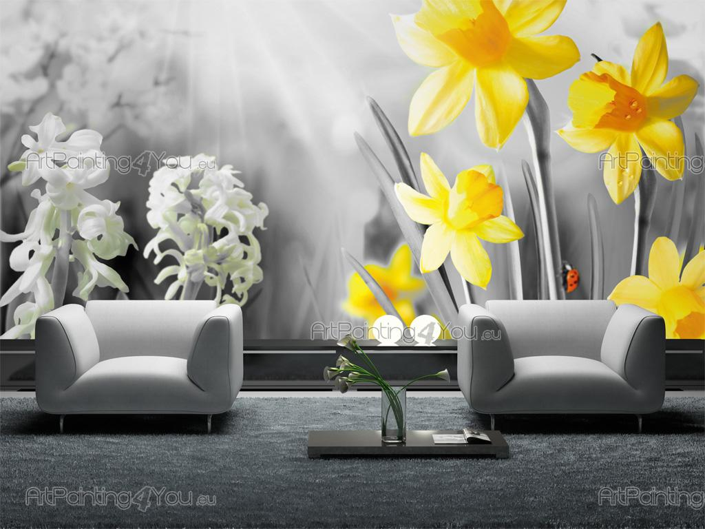 wall murals flowers canvas prints posters spring day