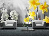 Spring Day - Black and White Wall Murals & Posters
