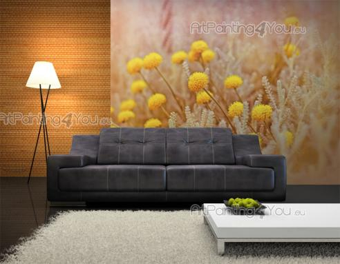 Yellow Flowers - Wall Murals Flowers & Posters