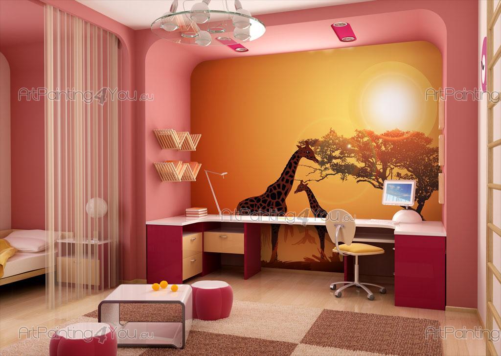 Fotomurali bambini giraffa for Decora la stanza girlsgogames