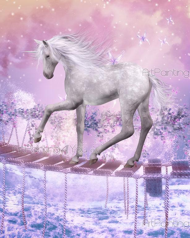 Wall Murals for Kids Unicorn ArtPainting4Youeu MCFA1010en