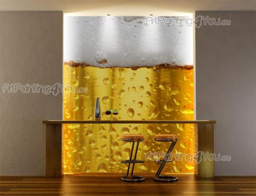 Beer Closeup - Food and Drink Wall Murals & Posters