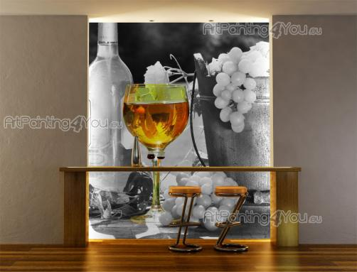 Grapes - Black and White Wall Murals & Posters
