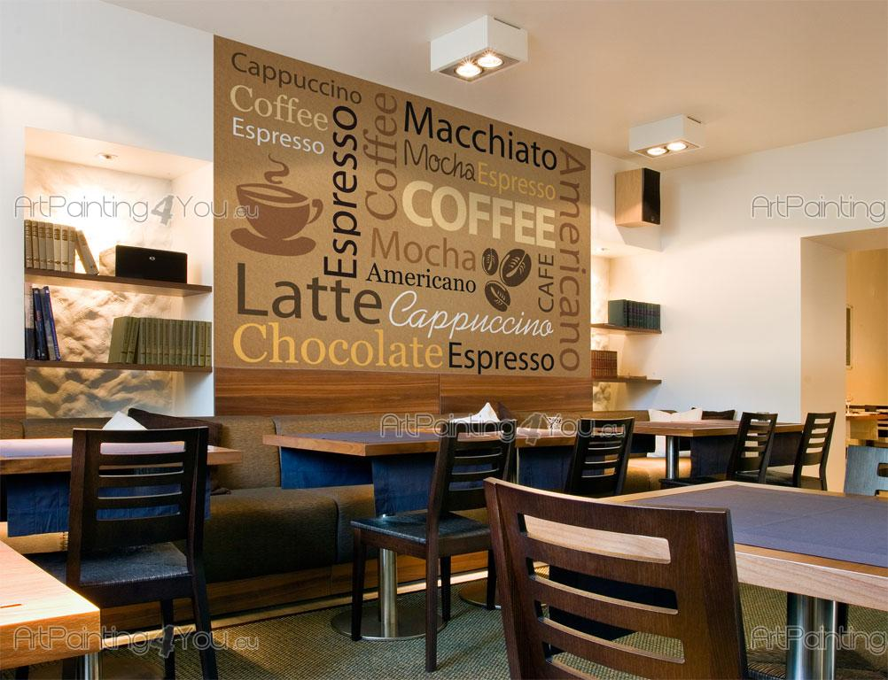 Wall Murals Amp Posters Coffee Words Artpainting4you Eu