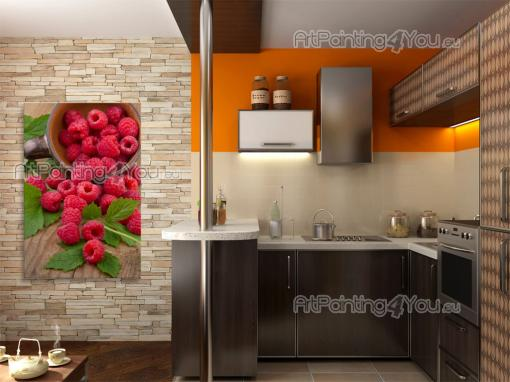 Raspberries - Food and Drink Wall Murals & Posters