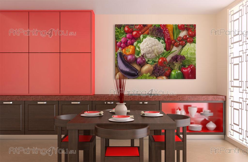 ... Parati Fotomurali Gastronomia, Poster Murali & Stampe su Tela Vegetale