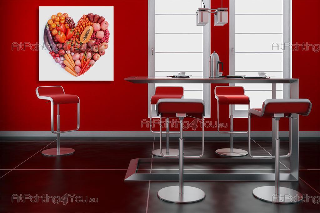 papier peint poster l gumes fruits mcg1070fr. Black Bedroom Furniture Sets. Home Design Ideas