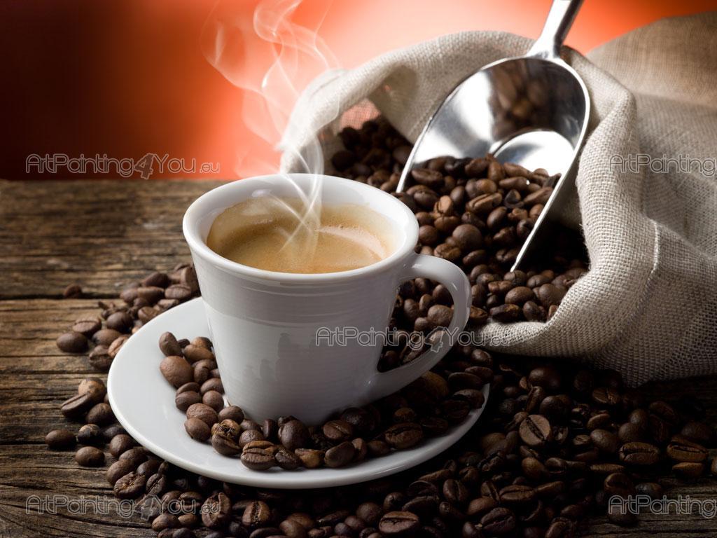 Fotomurales p sters taza caf - Bilder cappuccino ...