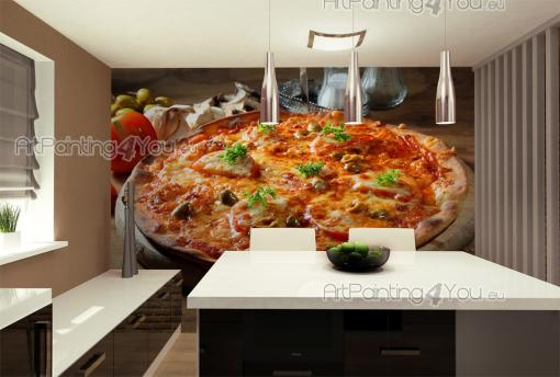 Pizza - Food and Drink Wall Murals & Posters