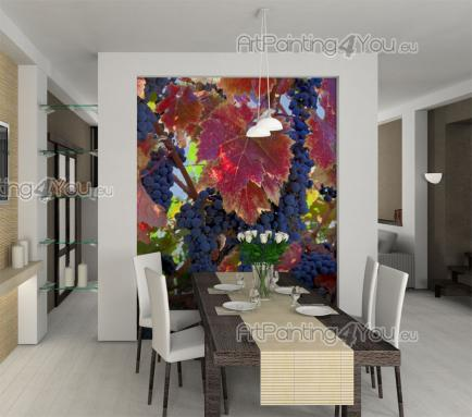 Grapes Vineyard - Food and Drink Wall Murals & Posters