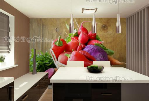 Fresh Vegetables - Food and Drink Wall Murals & Posters