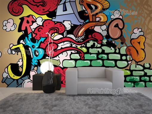 Graffiti wall murals posters mcgr1005en for Poster mural 4 murs