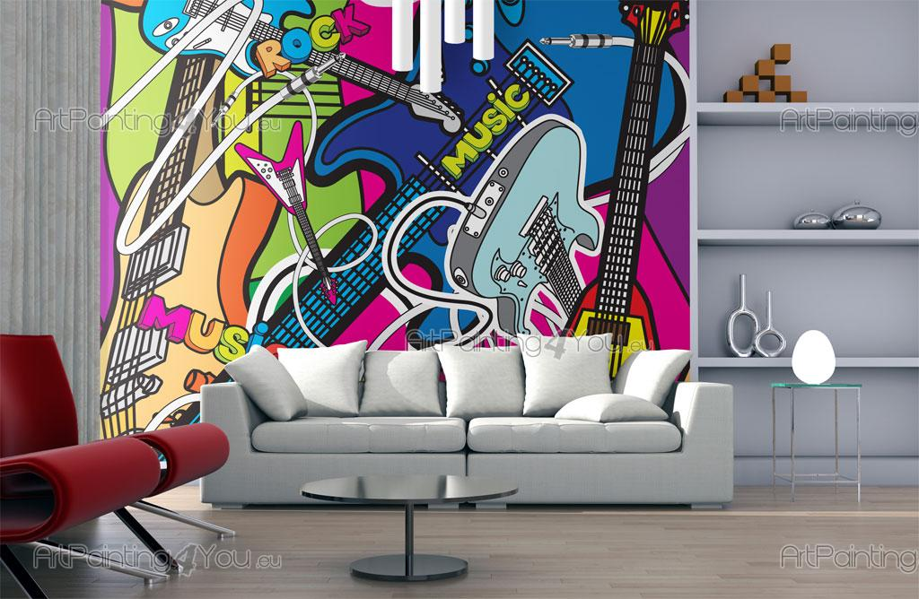 Wall Murals Amp Posters Music Cartoon Artpainting4you Eu