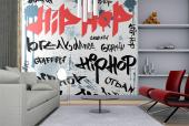 Hip Hop Cartoon - Graffiti and Music Wall Murals & Posters