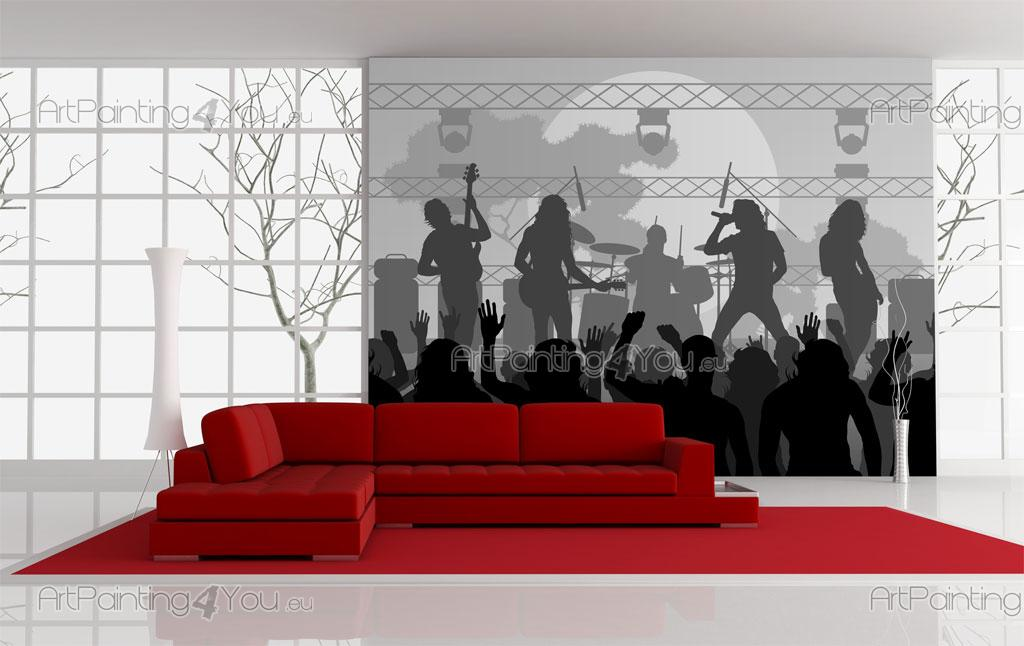 papier peint poster groupe de musique mcgr1014fr. Black Bedroom Furniture Sets. Home Design Ideas