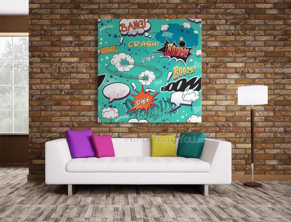 Comic Pop Art   Graffiti And Music Wall Murals U0026 Posters ... Part 25