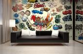 Bombs Cartoon - Graffiti and Music Wall Murals & Posters
