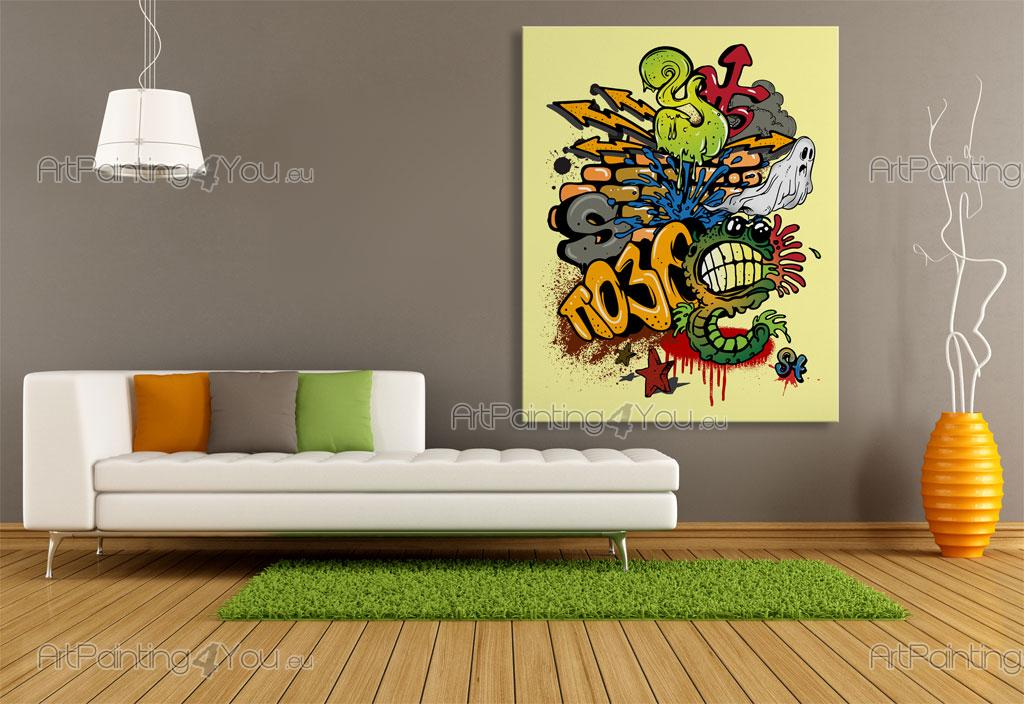 papier peint poster graffiti tag mcgr1030fr. Black Bedroom Furniture Sets. Home Design Ideas