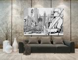 Jazz In New York - Graffiti and Music Wall Murals & Posters