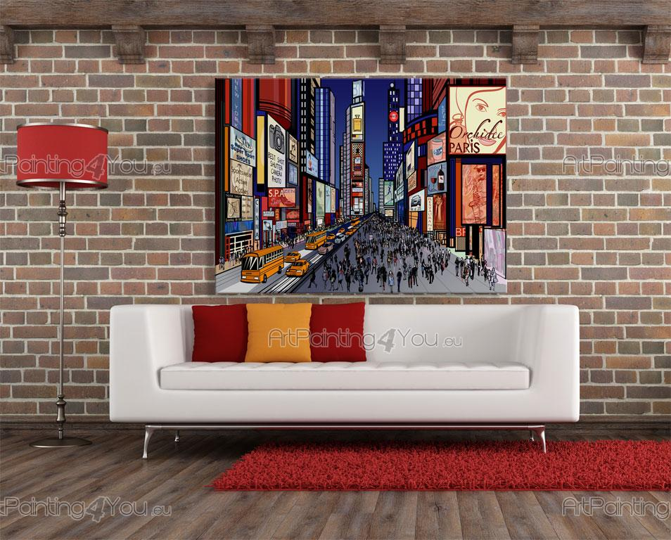Beautiful Times Square New York City   Graffiti And Music Wall Murals U0026 Posters ... Part 31