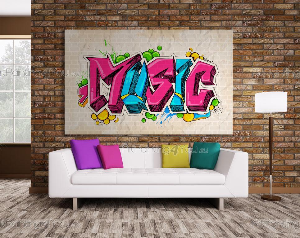 Wall Murals Amp Posters Music Graffiti Artpainting4you Eu