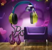 Pop Music - Graffiti and Music Wall Murals & Posters