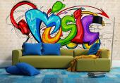 Music Graffiti - Graffiti and Music Wall Murals & Posters