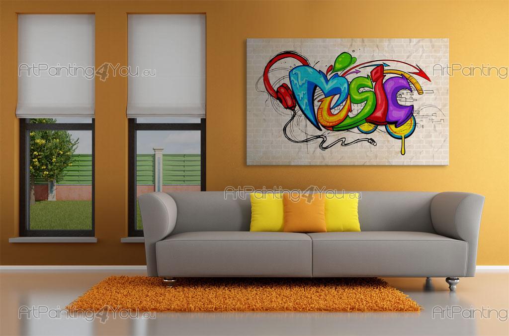 Wall Mural Posters music graffiti - wall murals & posters (mcgr1040en