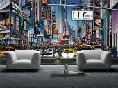 Times Square New York City - Graffiti and Music Wall Murals & Posters