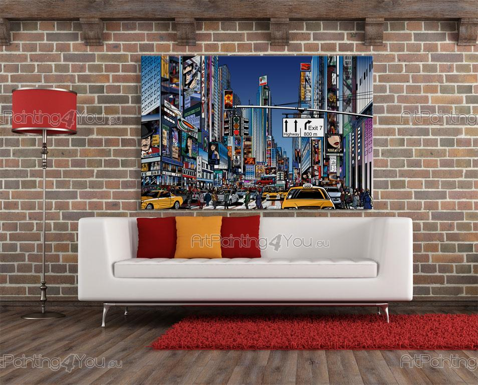Wall murals posters times square new york city for Acheter poster mural new york