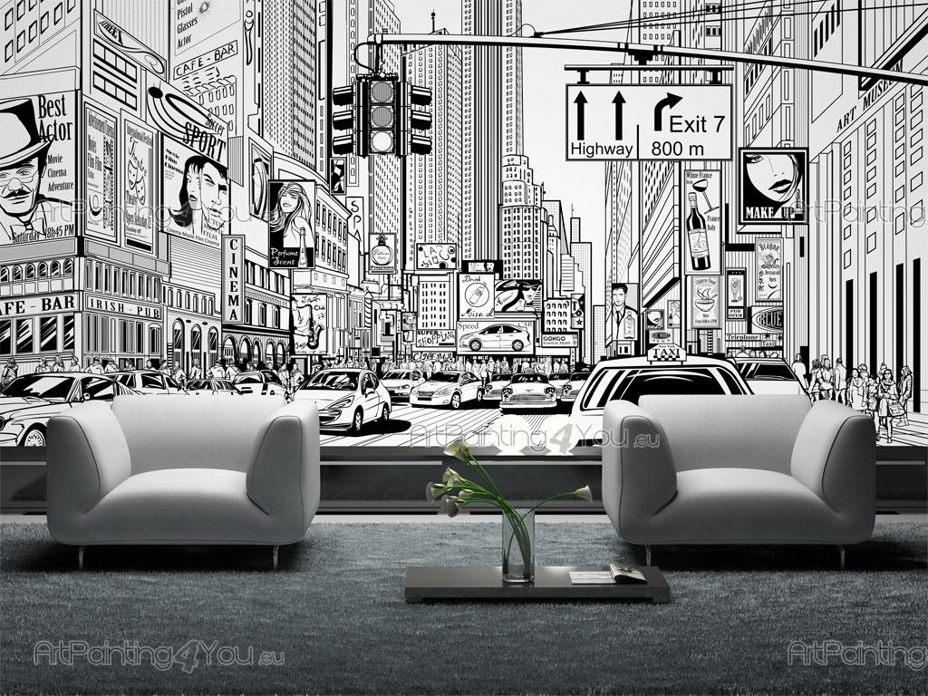 times square new york city wall murals posters mcgr1047en times square new york city black and white wall murals posters