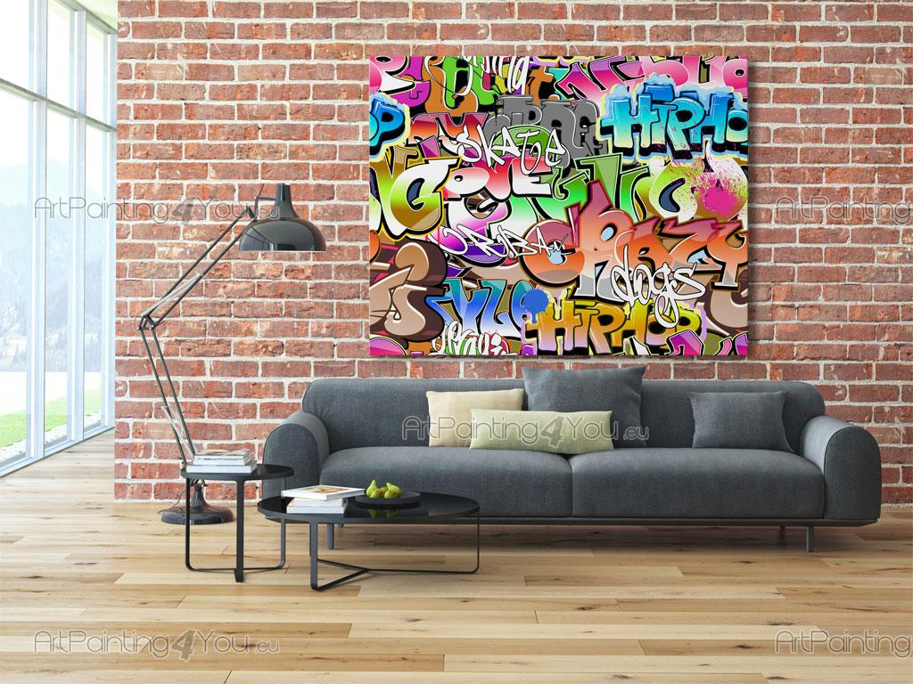 papier peint poster graffiti tag mcgr1054fr. Black Bedroom Furniture Sets. Home Design Ideas