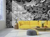 Graffiti - Black and White Wall Murals & Posters