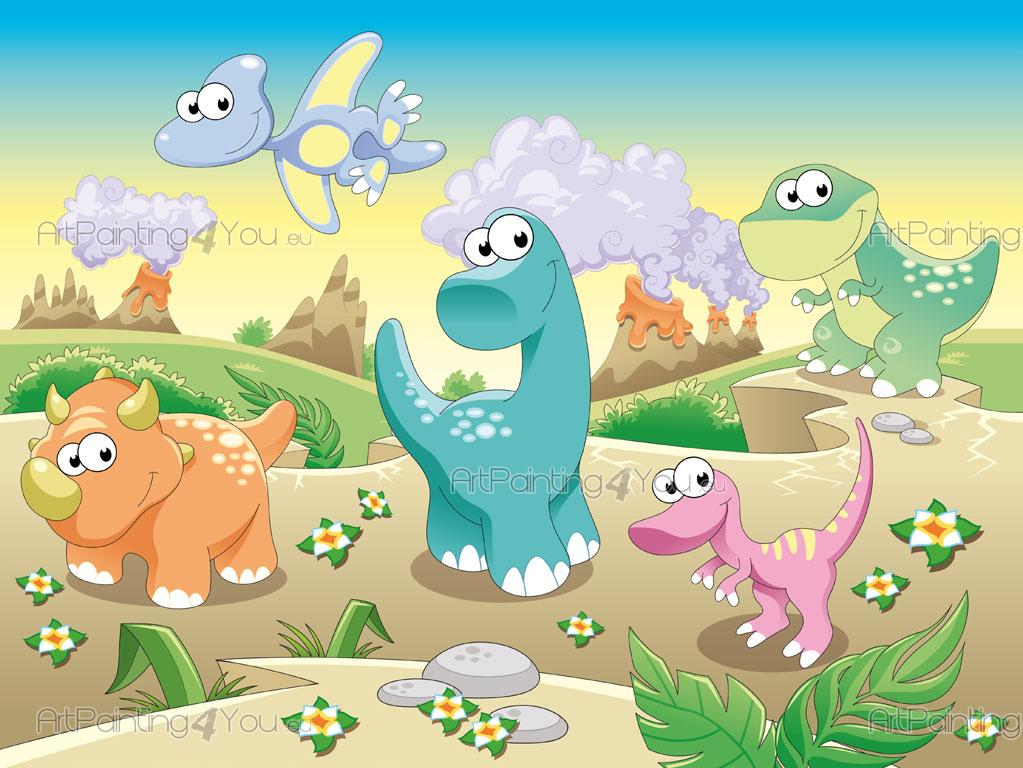 Fotomurales infantiles dinosaurios - Papel para paredes infantiles ...