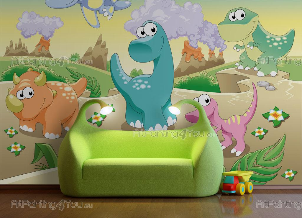 Fotomurales infantiles dinosaurios for Fotomurales infantiles